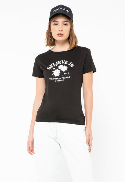 Believe In Crew Neck T-Shirt