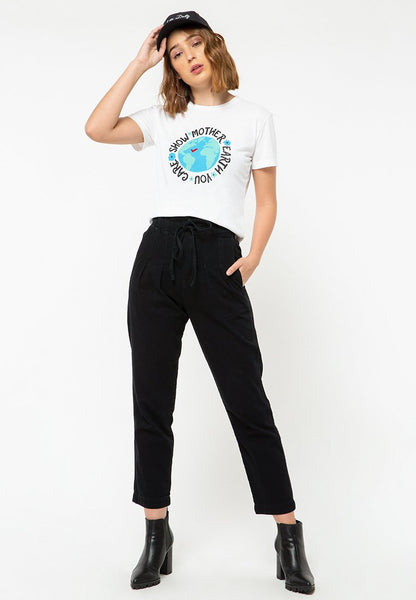 Mother Earth Round Neck T-Shirt