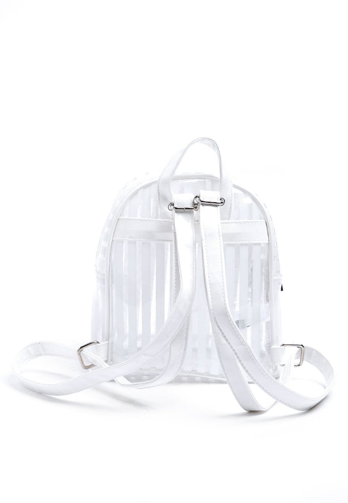 Transparent Backpack -White