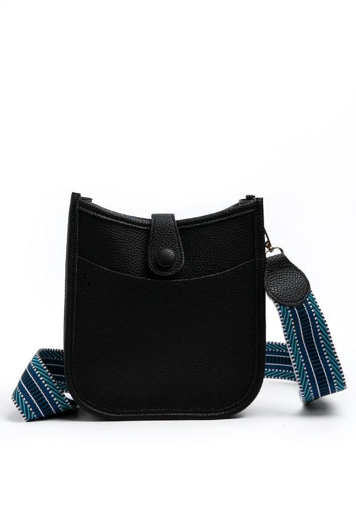 Big Strap Sling Bag - Black