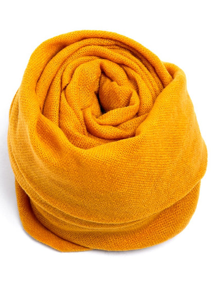 Woven Scarf - Bright Yellow