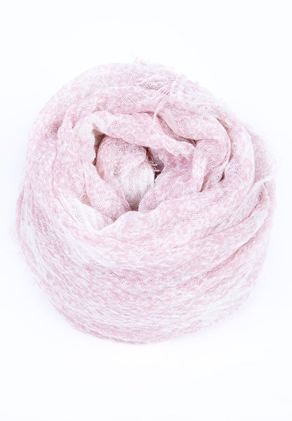 Woven star scarf - Pink