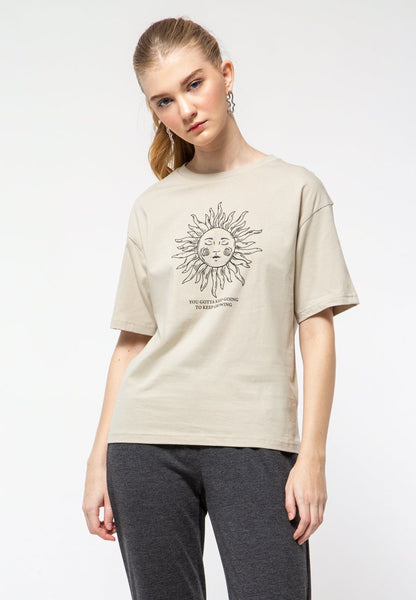 Printed oversized T-Shirt