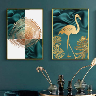 Art posters as interior decoration