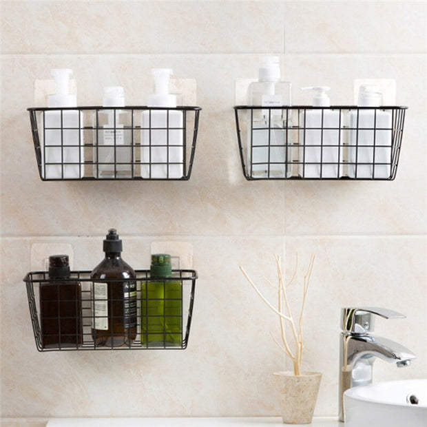 Iron Seasoning Storage Basket 4