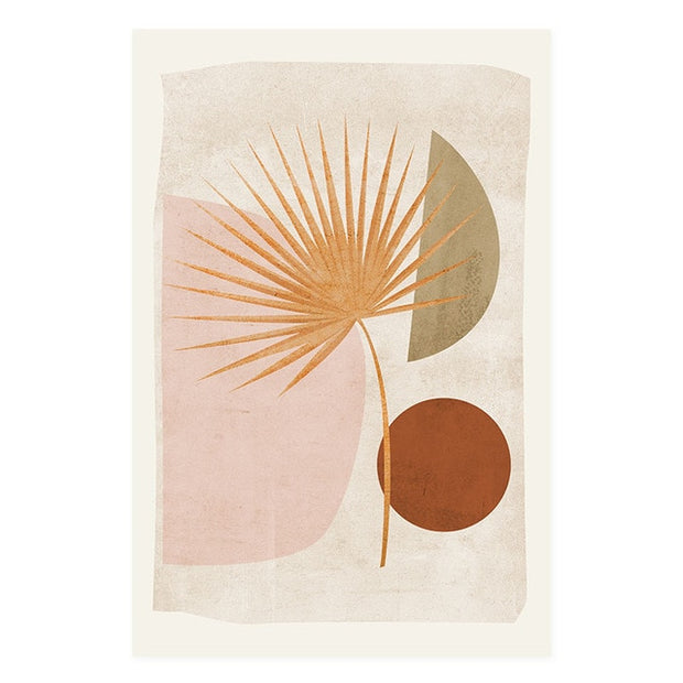 Modern Boho Abstract Poster 2