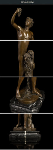 Nude Man Bronze Art statue