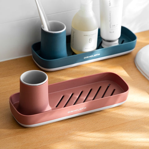 Kitchen Sponge Rack Organizer