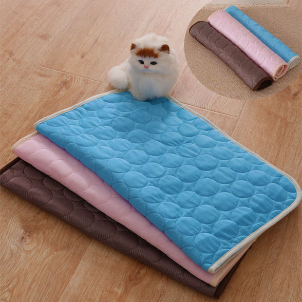 Summer Pet Cooling Mat Pad