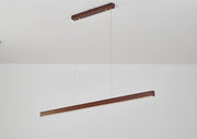 Minimal LED Wood Light