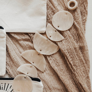 Clay Wall Hanging// Nude