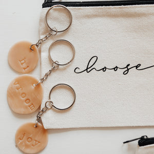 Clay Keychain// Custom
