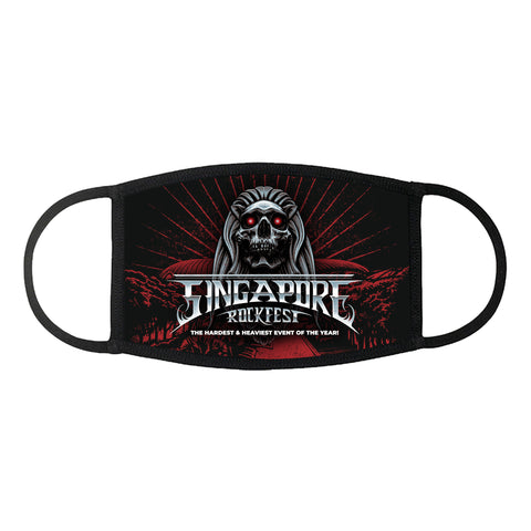 Singapore Rockfest - Face Mask - Design 1 (Pre-Order)