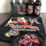 IRON MAIDEN TROOPER BEER - 8 PACK BUNDLE