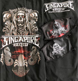 Singapore Rockfest T-Shirt - Design 1 (Free Singapore Rockfest Mask!)
