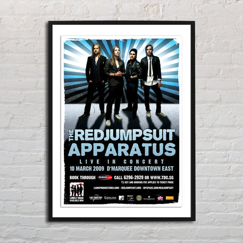 The Red Jumpsuit Apparatus 2009