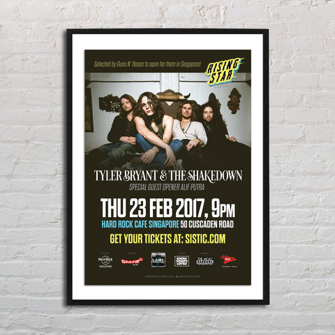 Tyler Bryant & The Shakedown with special guest Alif Putra 2017