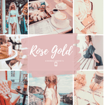 Load image into Gallery viewer, Rose Gold - Mobile Presets