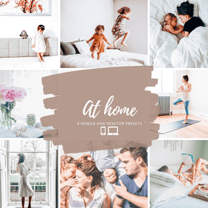 At Home - Mobile Presets