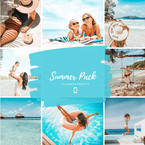 Summer Presets - Pack of 22