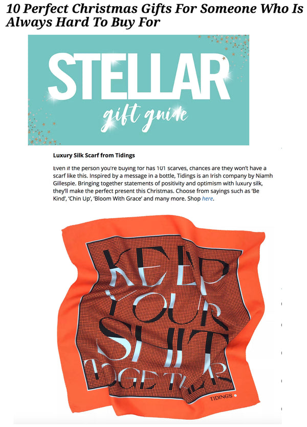 STELLAR - 10 Perfect Christmas Gifts