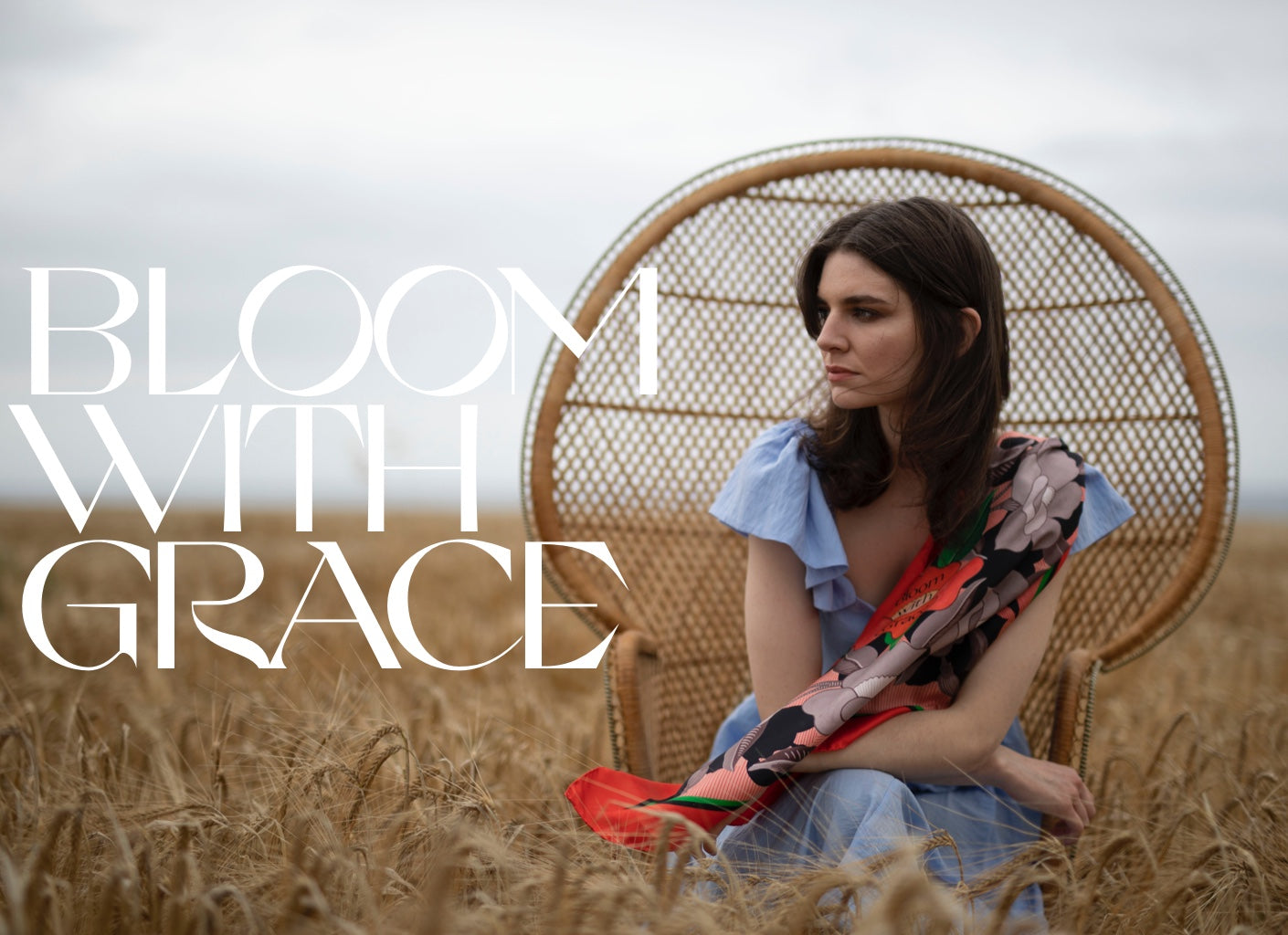 bloom with grace scarf