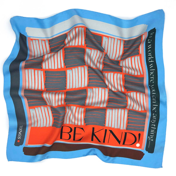 BE KIND - CORNFLOWER