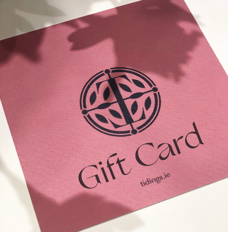 Tidings scarves gift card