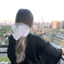 Load image into Gallery viewer, Organza Cloud Scrunchie