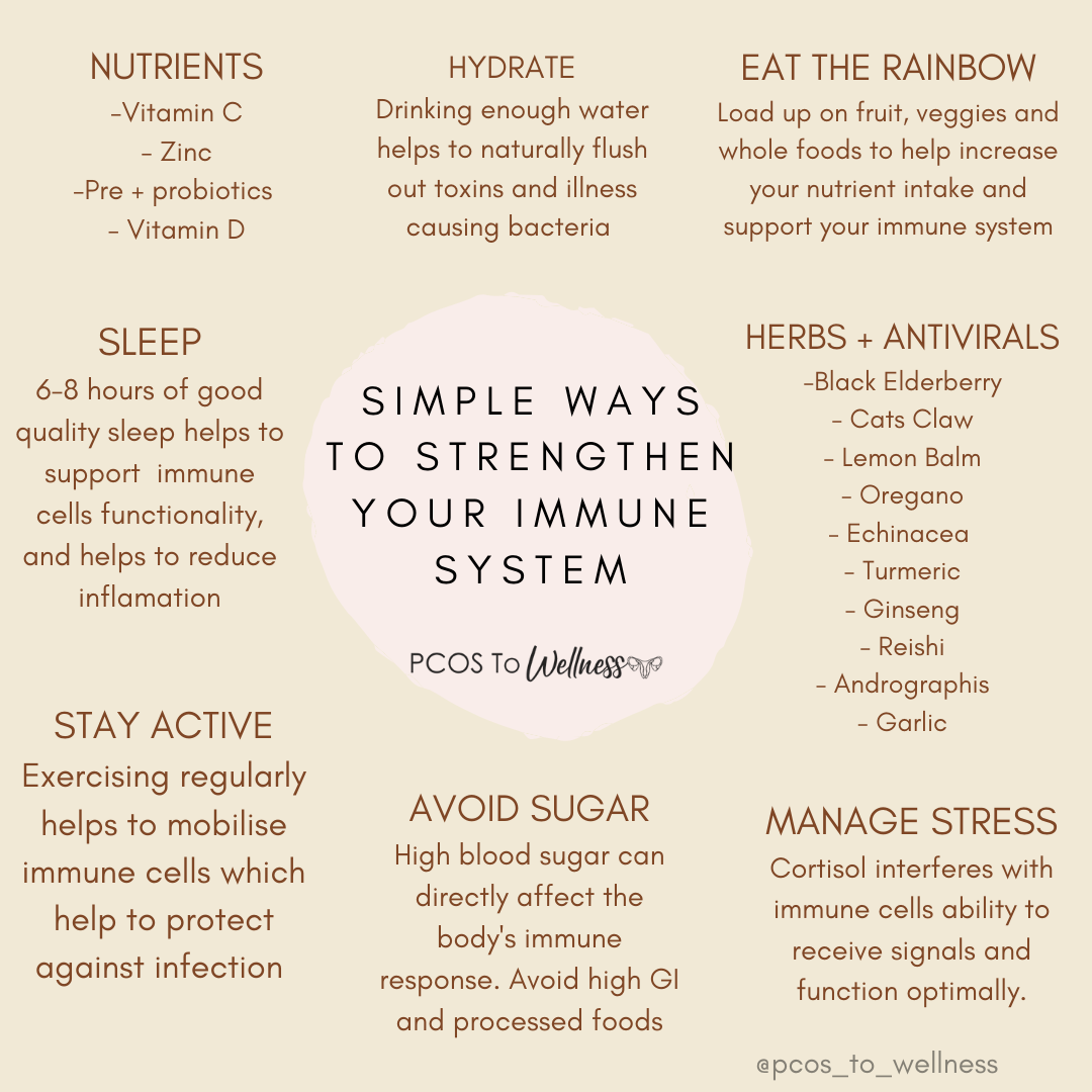 Simple ways to boost your immune system naturally