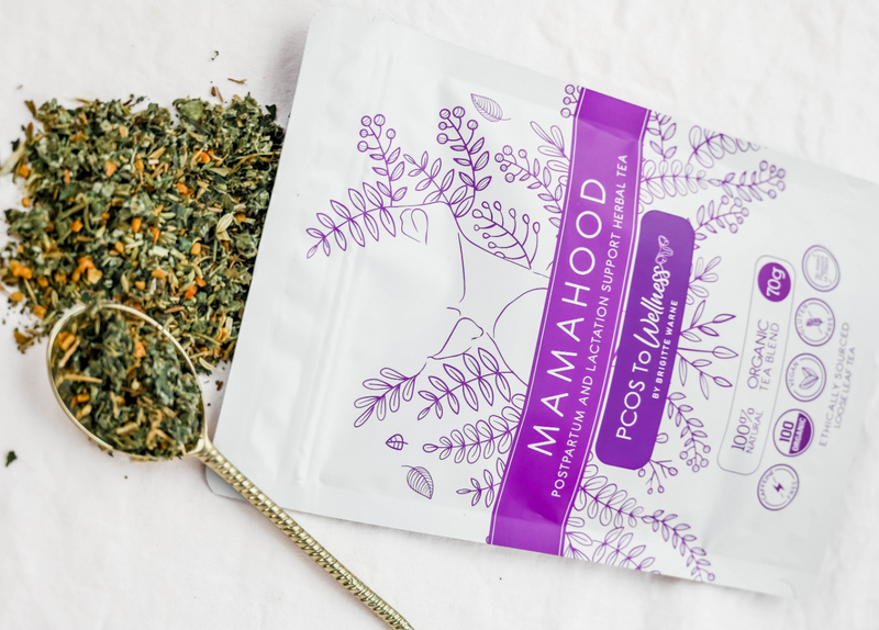 MAMAHOOD Postpartum and Lactation Support Tea