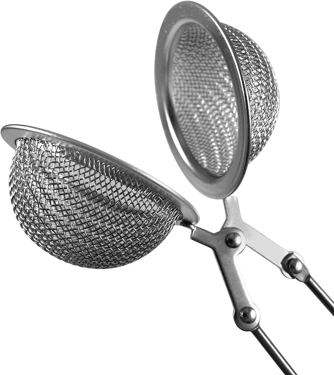 Silver Clamp Tea Infuser/ Strainer