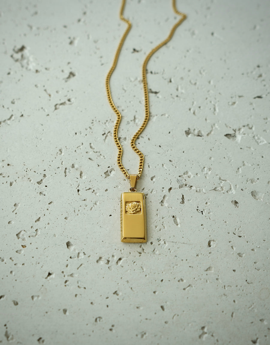Rose Pendant (Gold)