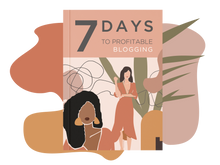 Load image into Gallery viewer, 7 Days to Profitable Blogging Ebook