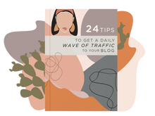 Load image into Gallery viewer, BUNDLE: 7 Days to Profitable Blogging, Blogging For Beginners & 24 Tips to Get a Daily Wave of Traffic to Your Blog Ebooks