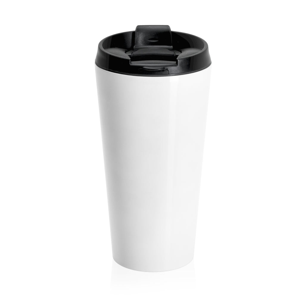 Stainless Steel Travel Mug - Yellow