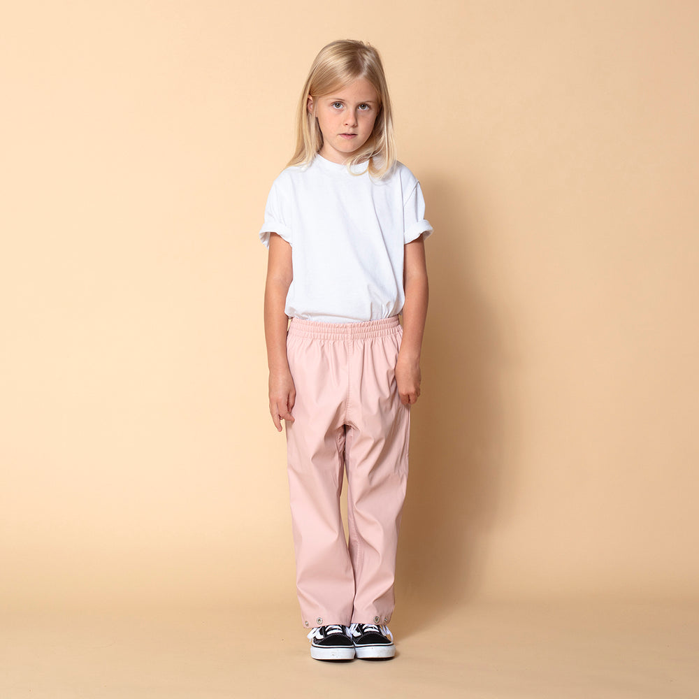 Hidden Dragon Rain Pants ~ Evening Pink