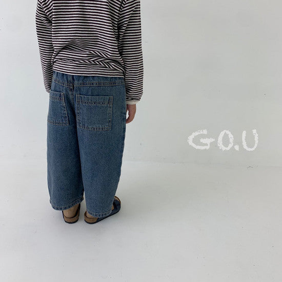 Load image into Gallery viewer, Wide Leg Jeans