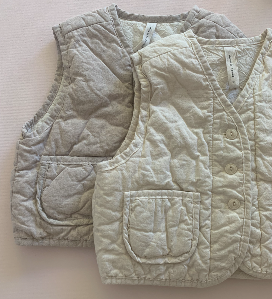 Quilted Cotton Gilet
