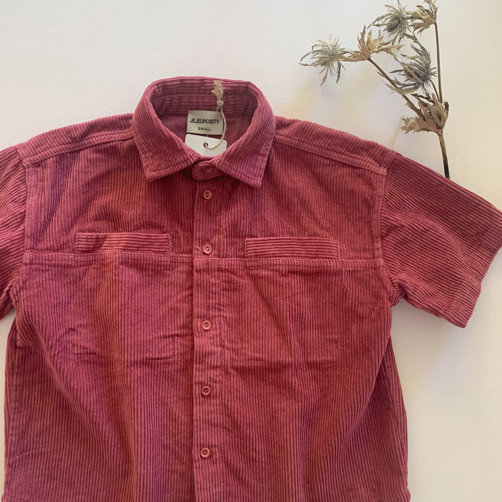Load image into Gallery viewer, Corduroy Oversize Shirt