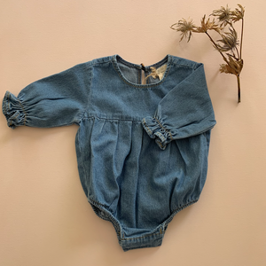 Load image into Gallery viewer, The Denim Romper
