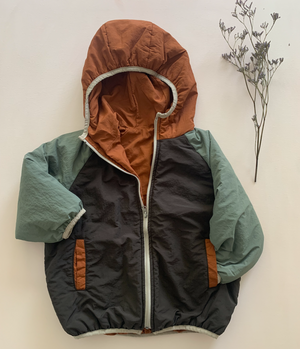 Reversible Hooded Puffer