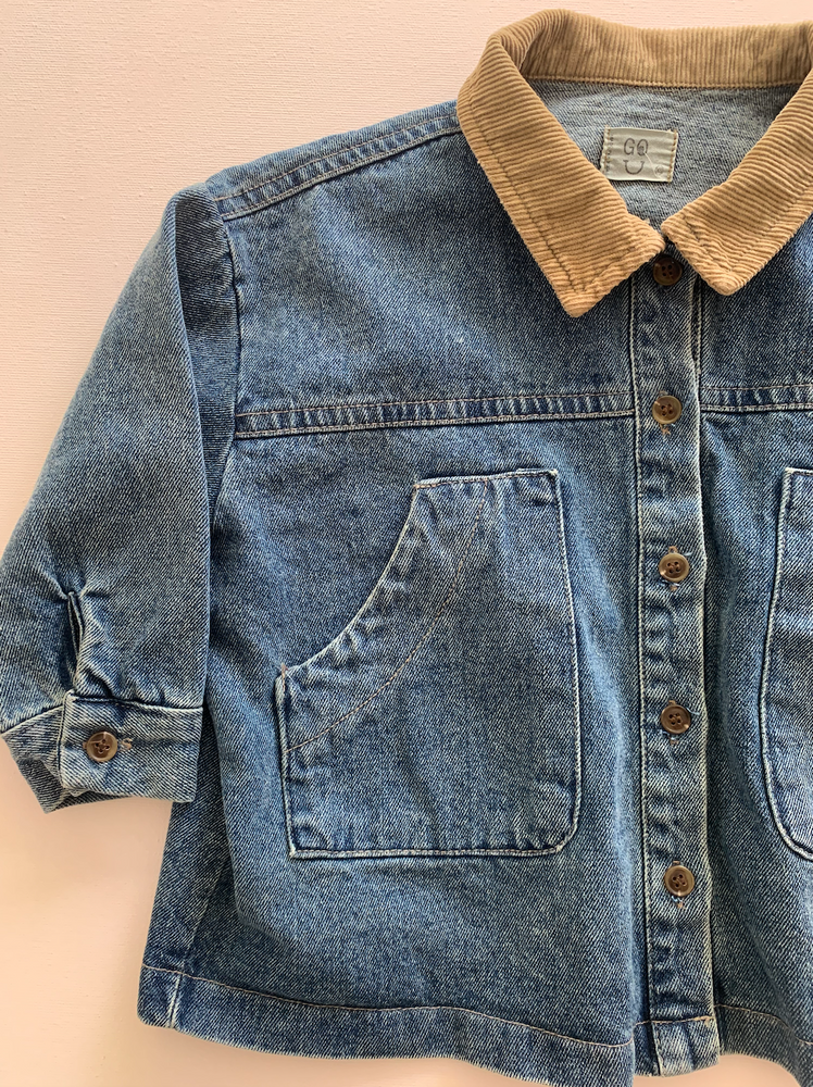 Load image into Gallery viewer, The Box Denim Jacket