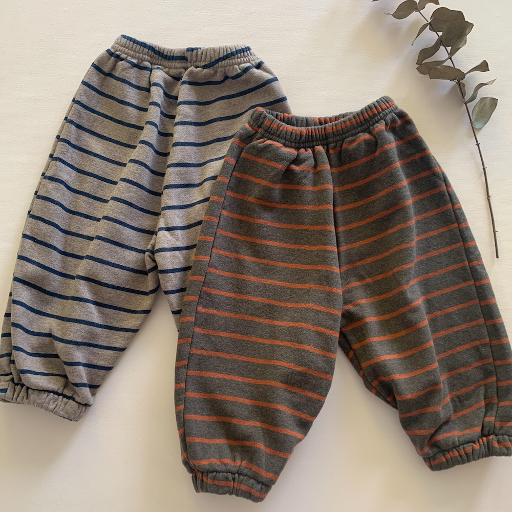 Load image into Gallery viewer, Stripe Cotton Joggers