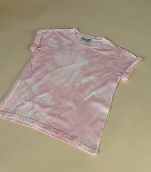 Load image into Gallery viewer, Ice Pink, Hand-dyed Tee [Age 4]
