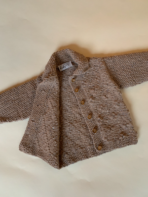 The Hand Knit Jacket ~ Age 2