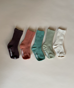 Load image into Gallery viewer, Desert Rib Socks