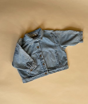 Block Denim Jacket