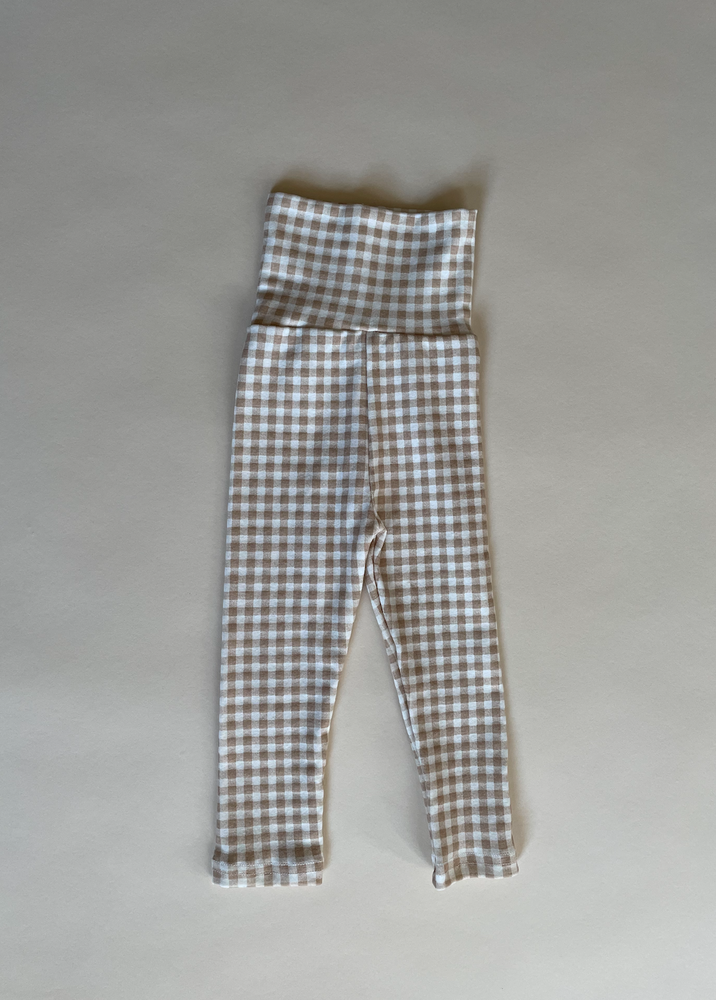Gingham Leggings