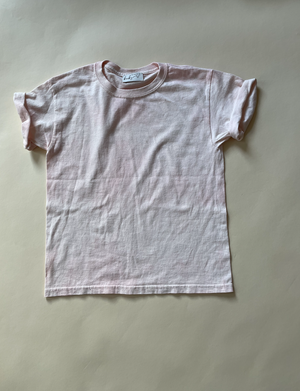 Marshmallow, Hand-dyed Tee [Age 5]